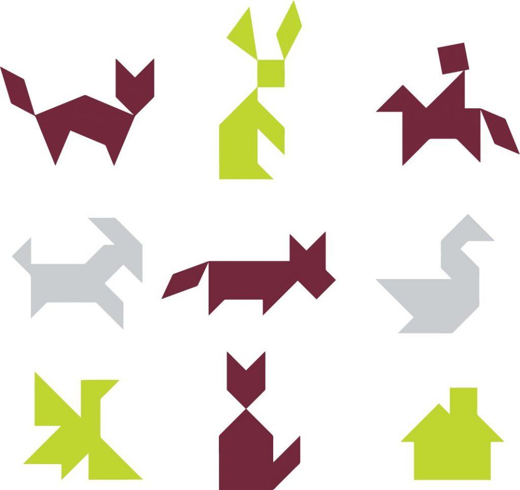 tangram-animals